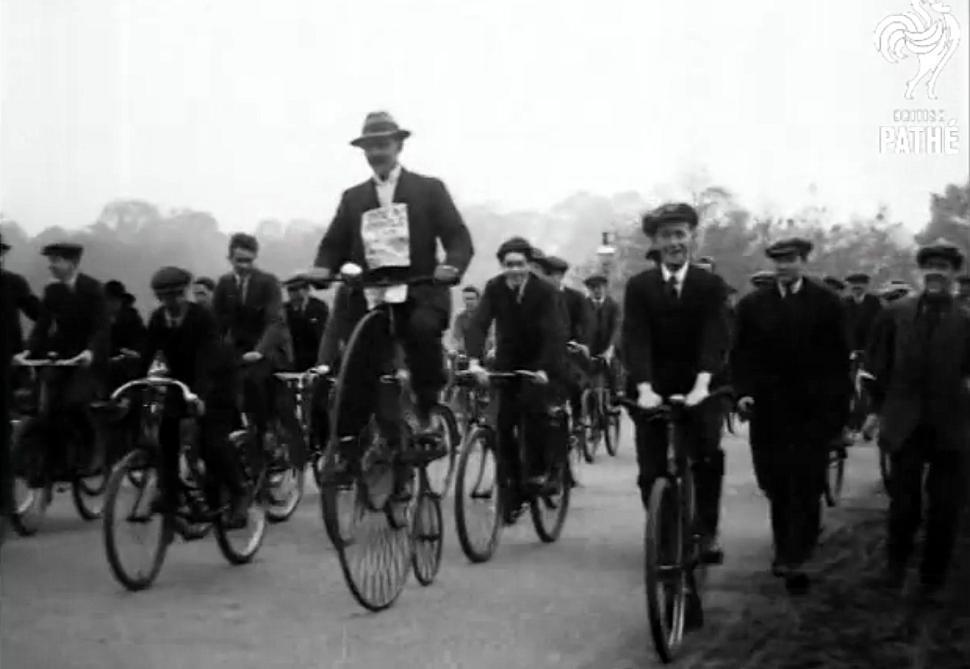 National Bicycle Week Pathe