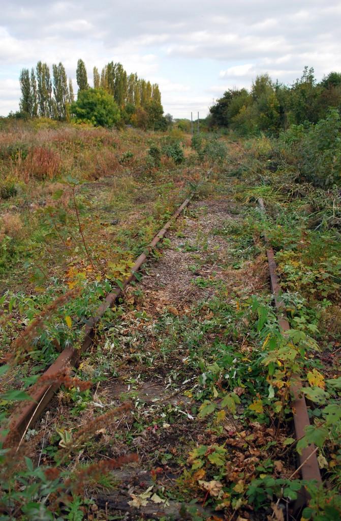 Northampton disused rail line