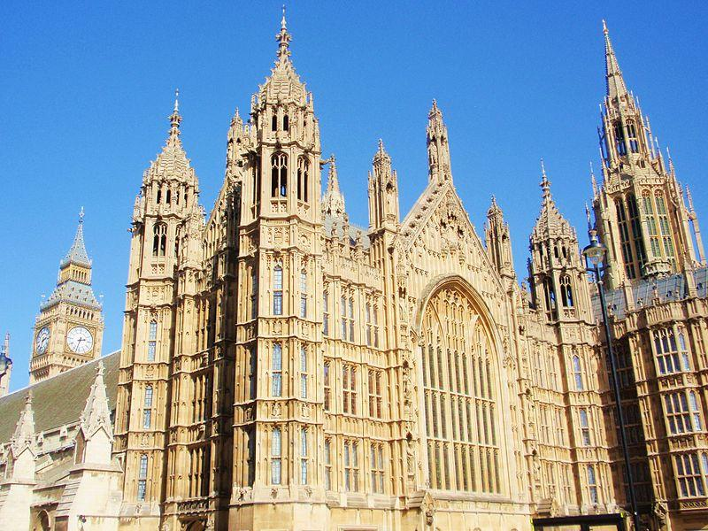 Palace of Westminster (Ollios, Wikimedia Commons)