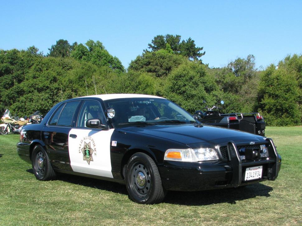 Palo Alto police car