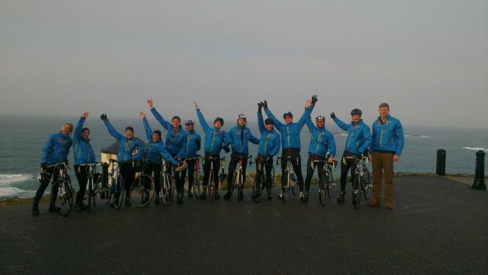 Pedal East - the grand depart