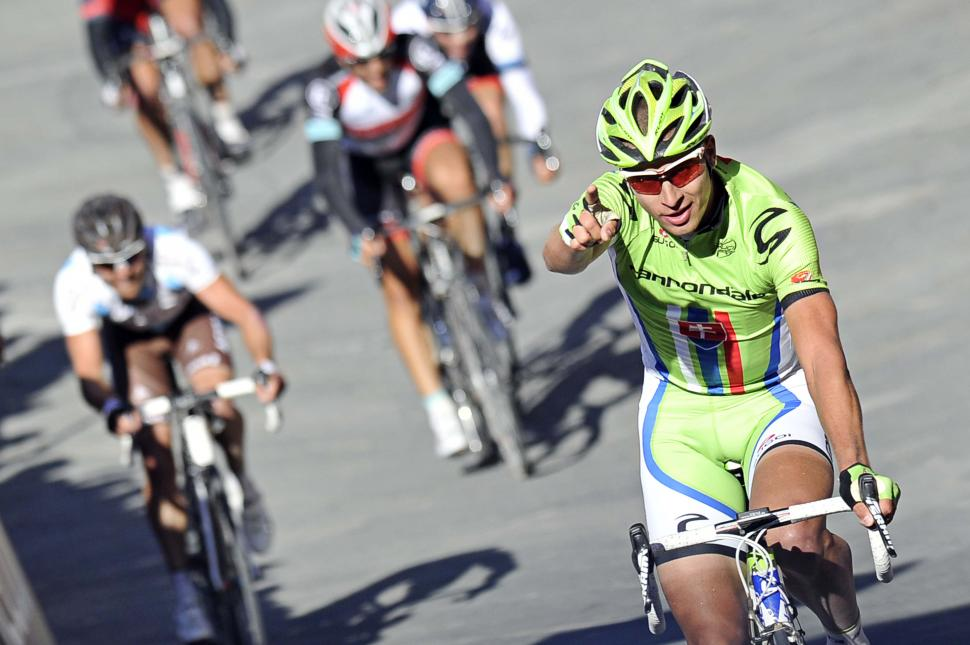 Peter Sagan 2nd in 2013 Strade Bianche (c) Gian Mattia D'Alberto, LaPresse, RCS Sport