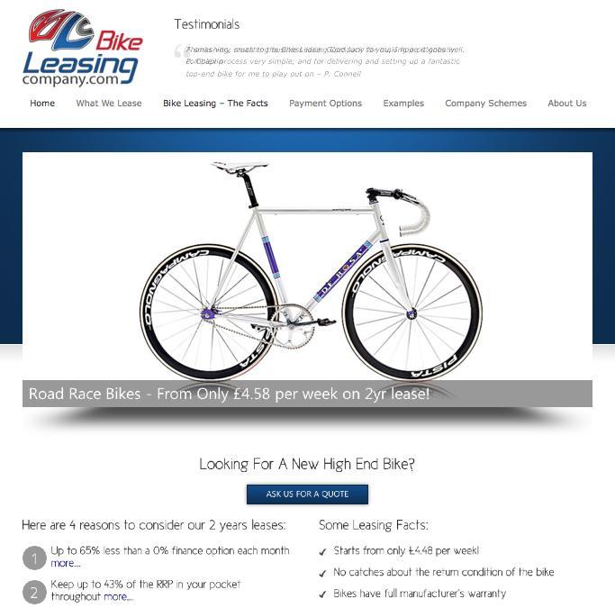 bikeleasingcompany.com new website