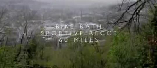 Bike Bath recce video title