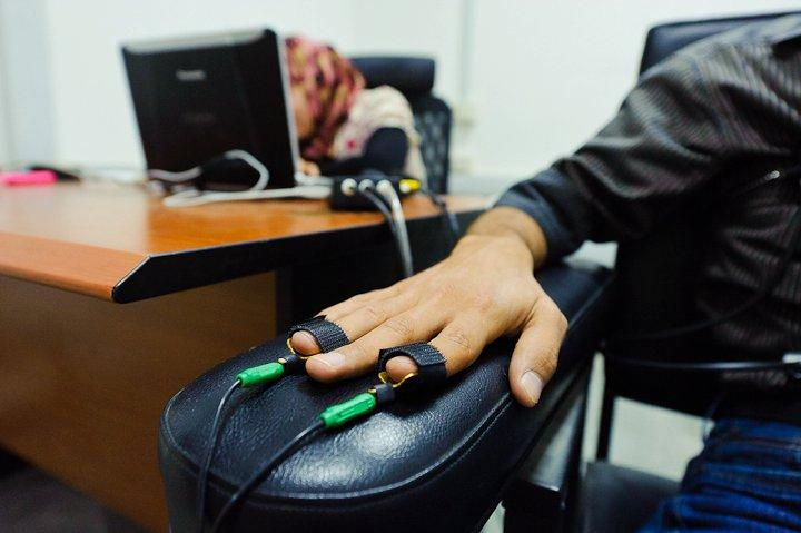 Polygraph (CC license by by United States Forces - Iraq)