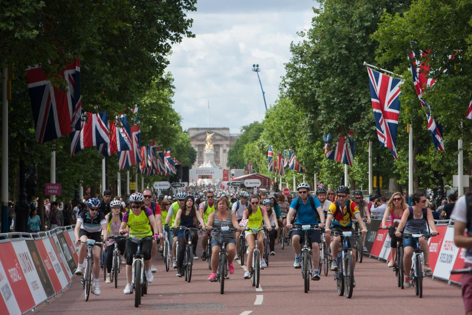 Prudential RideLondon FreeCycle (image - Prudential RideLondon)