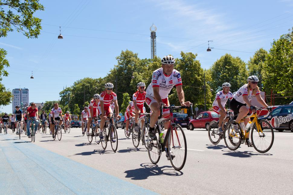 Riders on the World Road Championships Route photo Ursula Bach.jpg
