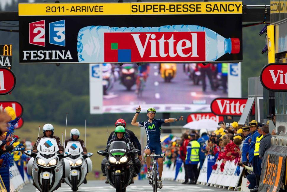 Rui Costa wins Stage 9 of the 2011 Tour de France credit PhotoSport International.jpg