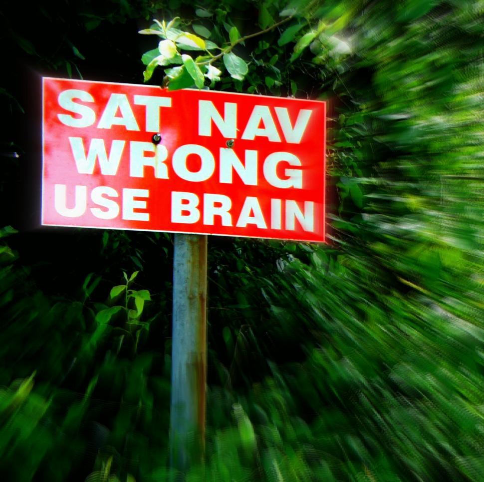 Sat Nav Wrong 3 (CC licenced by Effervescing Elephant:Flickr)