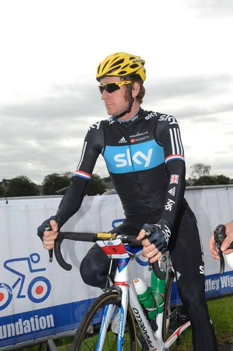 Sir Bradley Wiggins at last year's Ride with Brad sportive Image courtesy Pennine Events