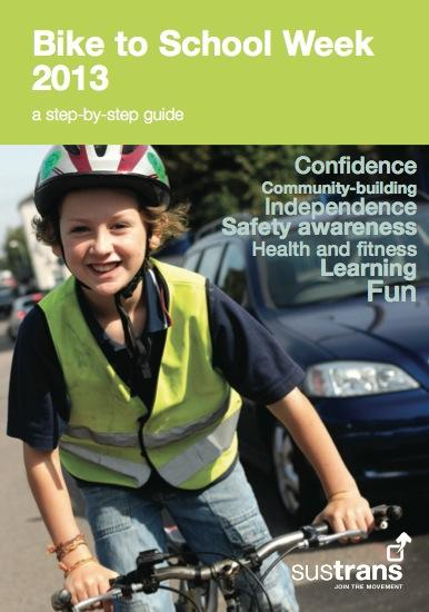 Sustrans Bike To School Guide 2013