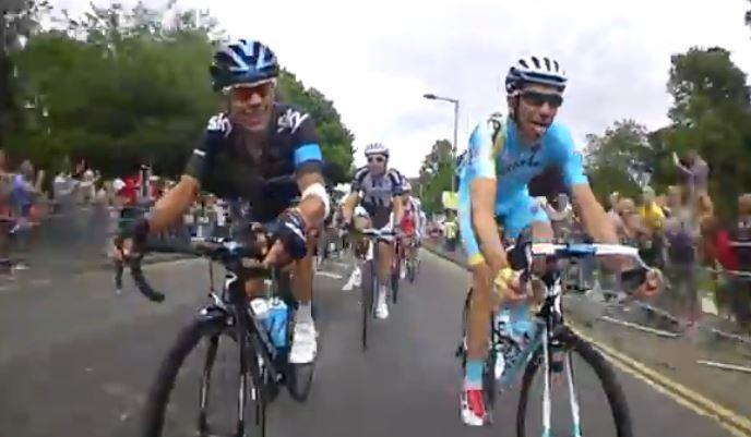 TdF 2014 S3 Team Sky bike cam YouTube still
