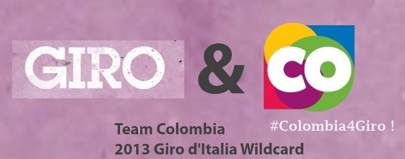 Team Colombia Giro Wild Card 2013