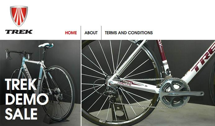 Trek Demo Sale