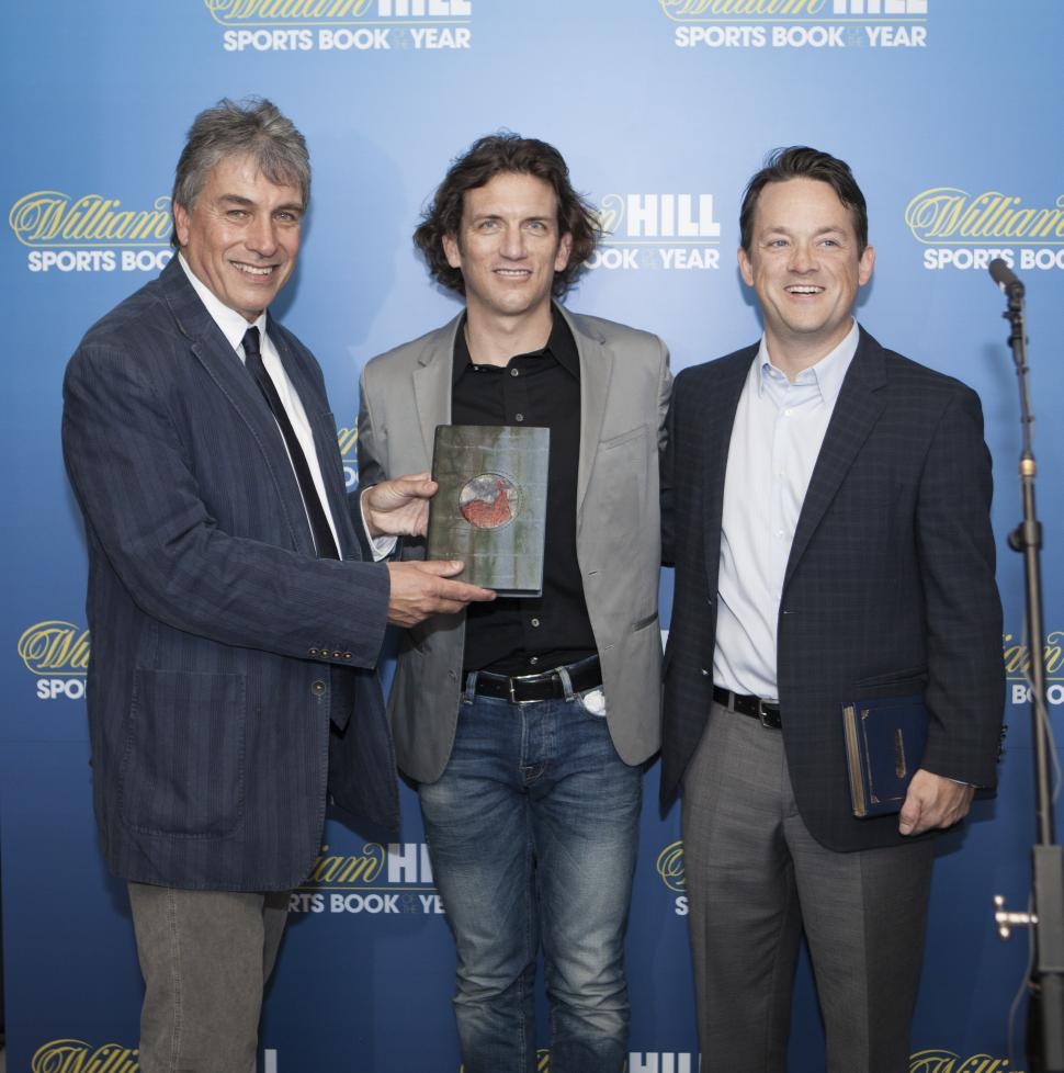 Tyler Hamilton and Daniel Coyle win William Hill Sports Book of the Year