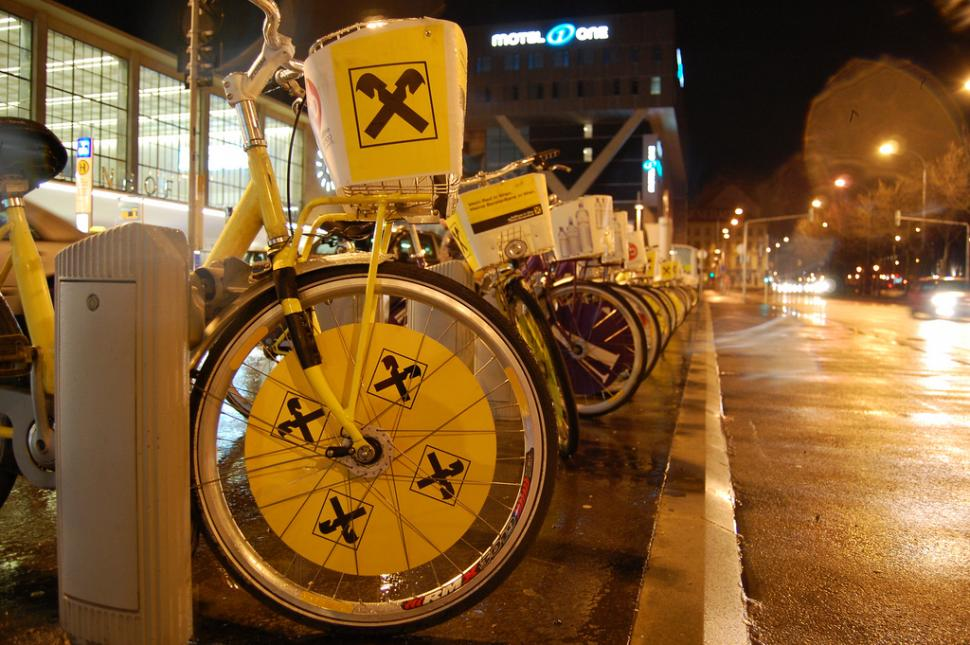 Vienna Cycle Hire (Source- European Cyclists' Federation on Flickr)