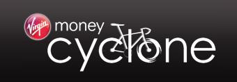 Virgin Money Cyclone logo