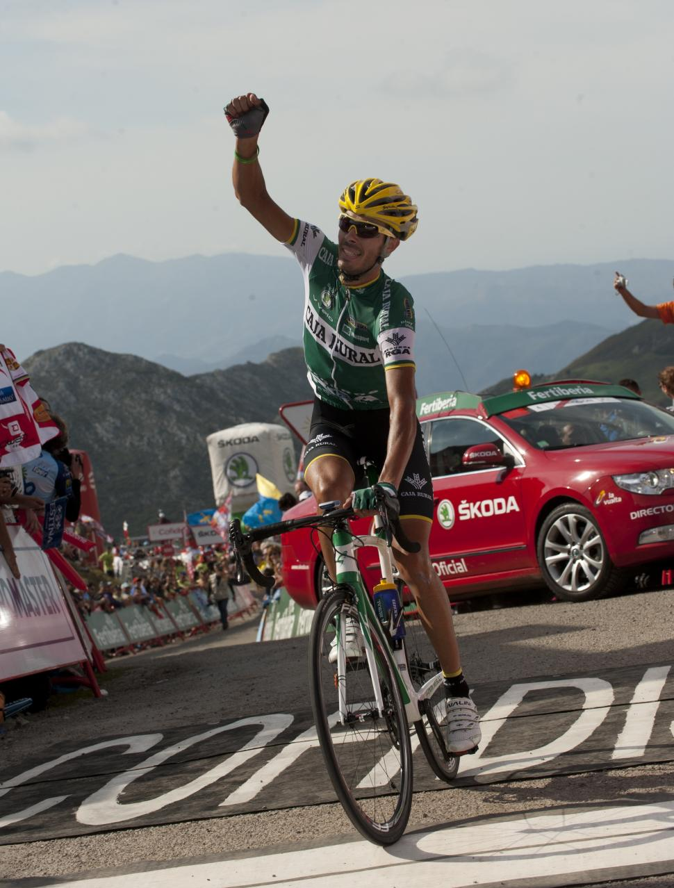 Vuelta 2012 S15 Antonio Piedra wins (copyright Unipublic:Graham Watson)