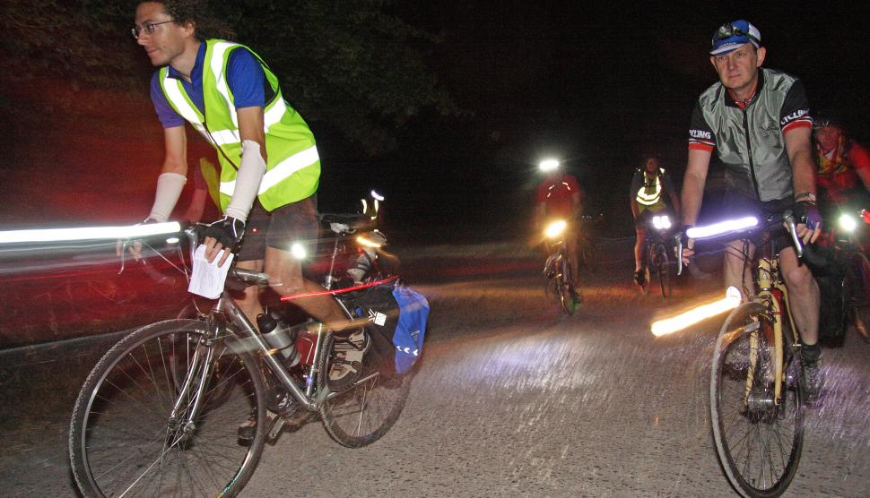 Six tips for cycling at night