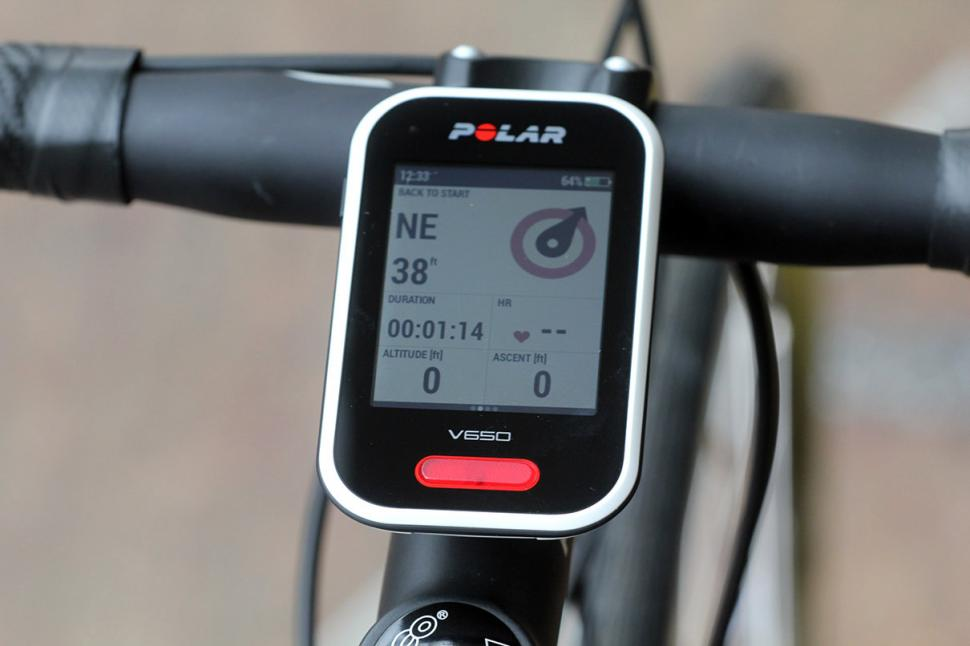 Polar V650 GPS cycling computer - screen 2