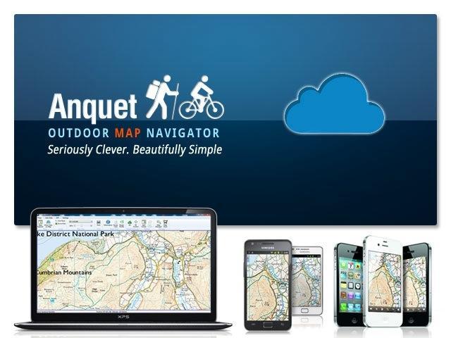 Anquet Outdoor Map Navigator