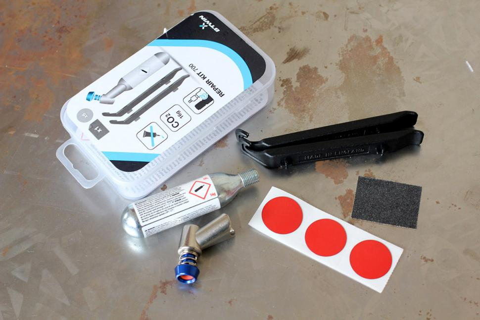 BTwin puncture repair kit - contents