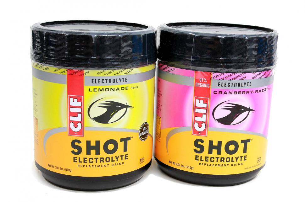 Clif Shot electrolyte drink