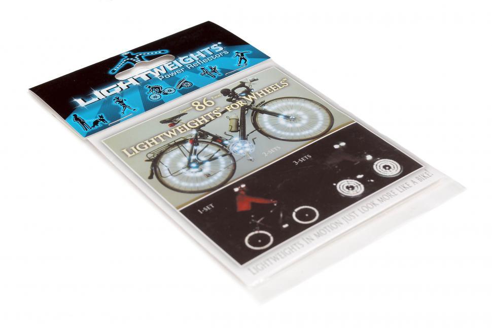 Lightweights wheel stickers