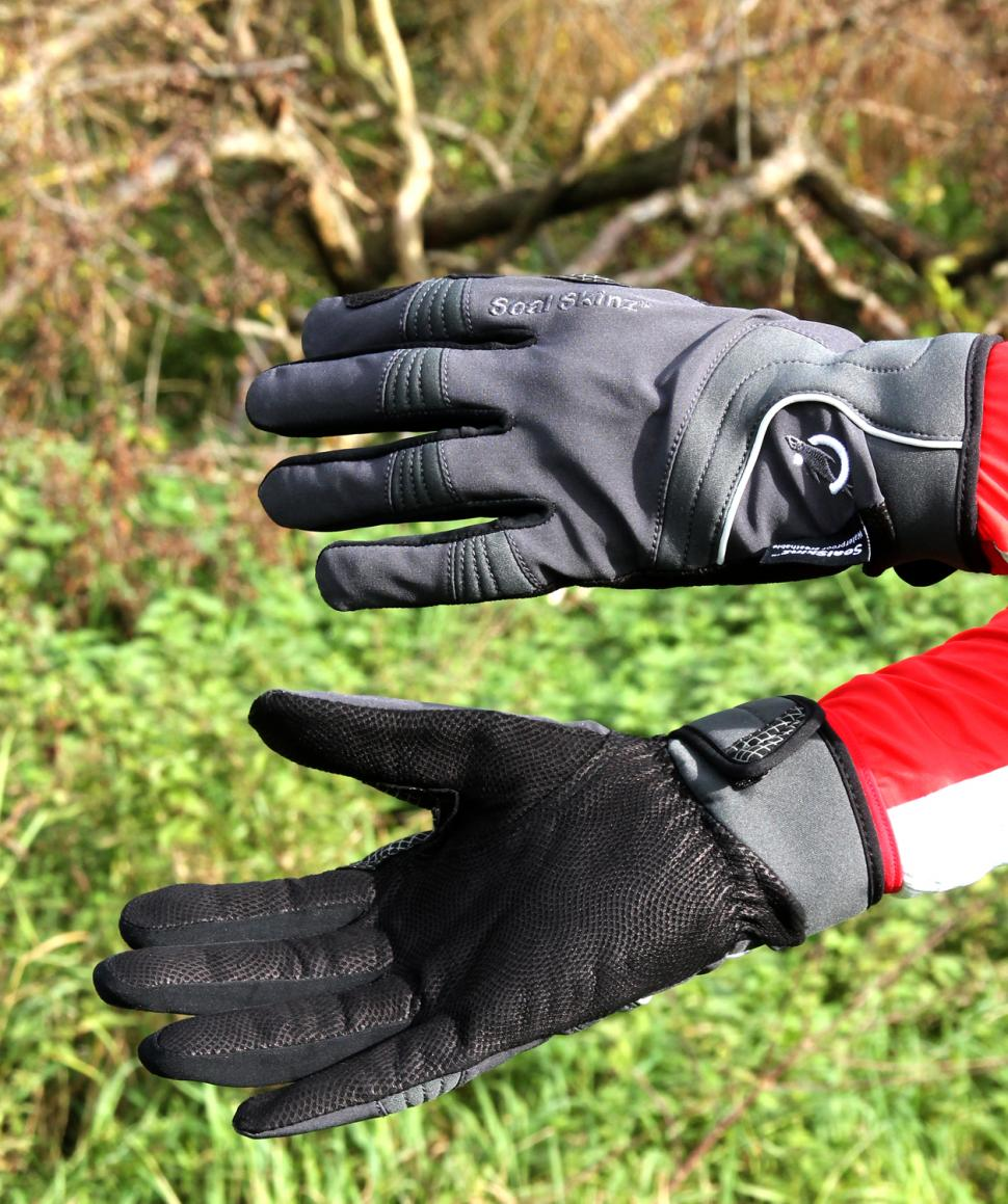 Sealskinz Leather Road Cycle Gloves
