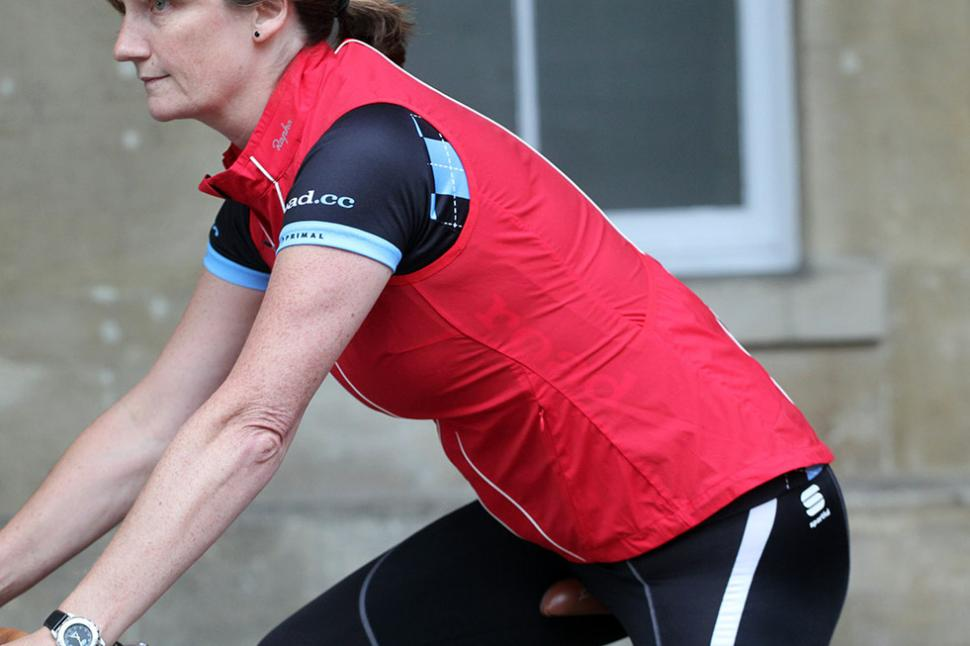 Rapha Womens Gilet - riding