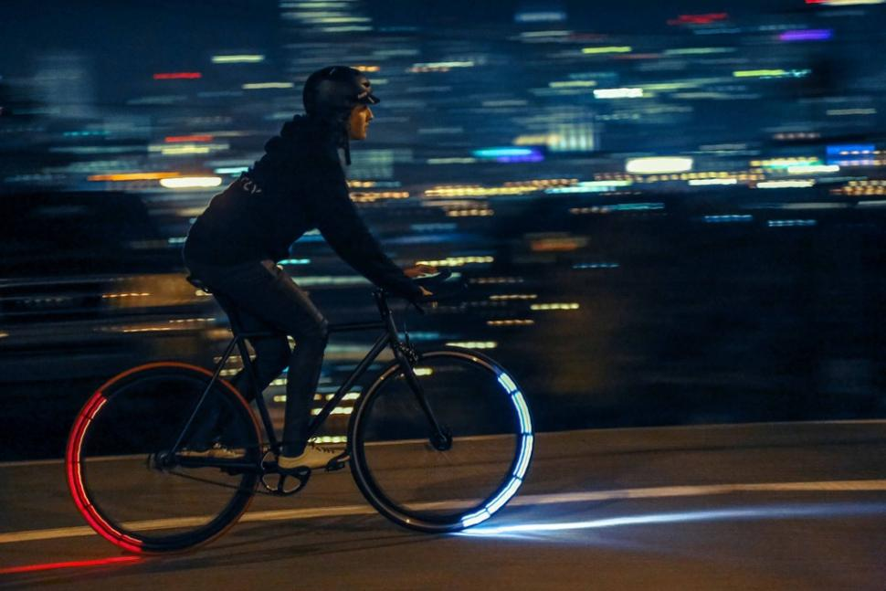 Revolights City Wheels Riding.Photo by Glen McKenna
