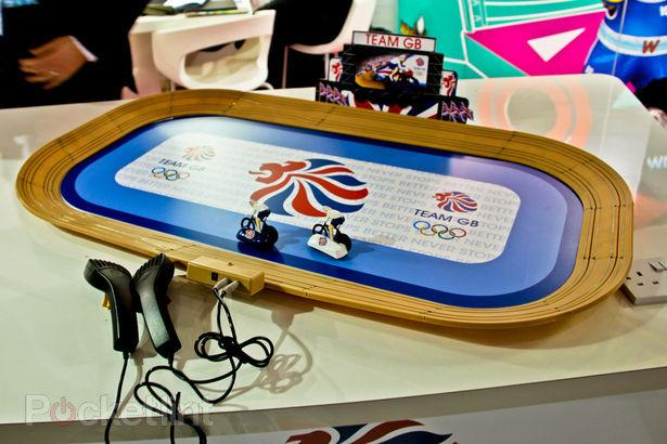 Scalextric GB cycling set (pic courtesy Pocket Lint)