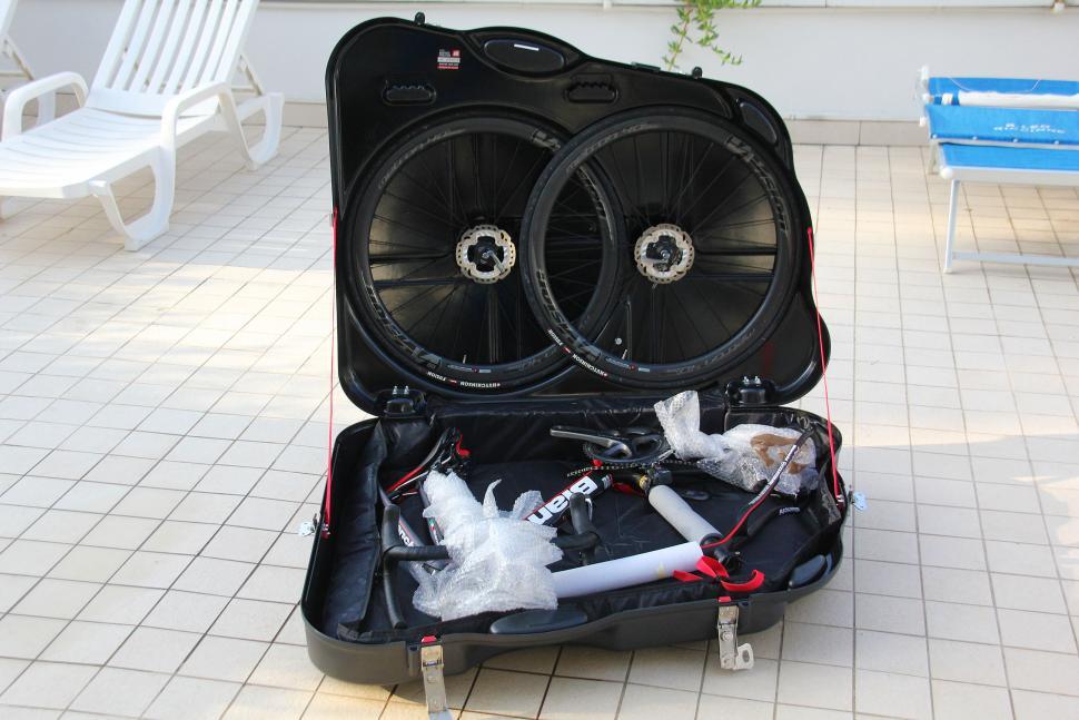 Scicon Aerotech Evolution bike hard case - open