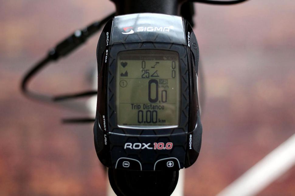 Sigma Rox 10.0 gps - top