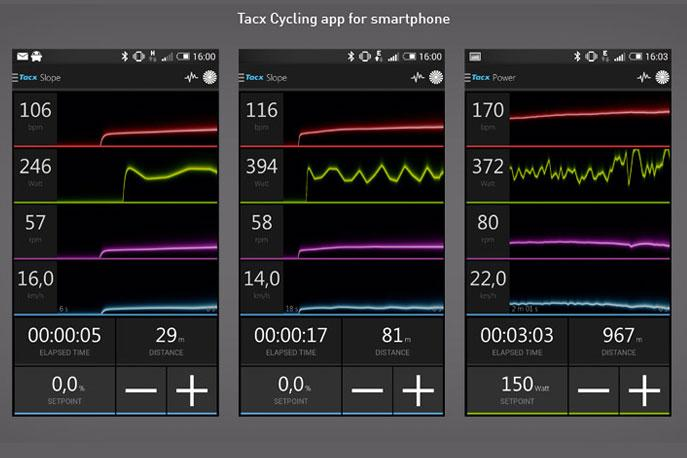 Tacx Satori Smart - smart phone app