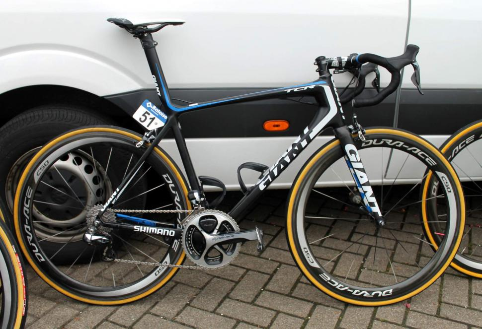 Team Blanco's Giant Propel and TCR Advanced SL race bikes | road.cc