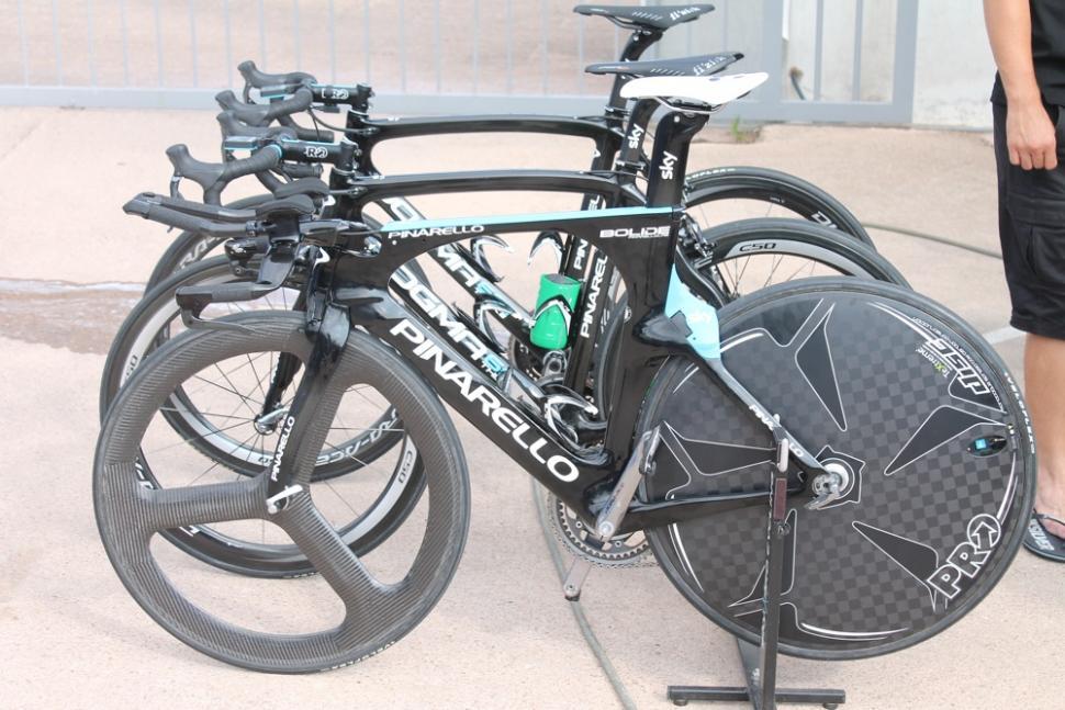 Pinarello trispoke front wheel