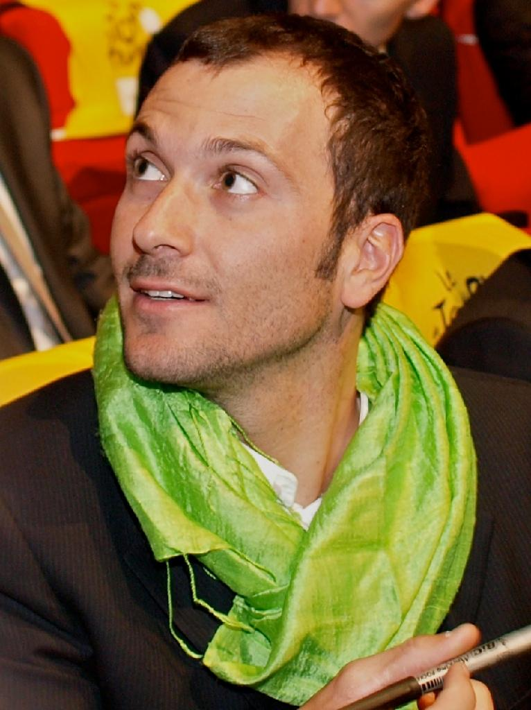 Ivan Basso at the 2011 Tour de France Presentation © Simon MacMichael