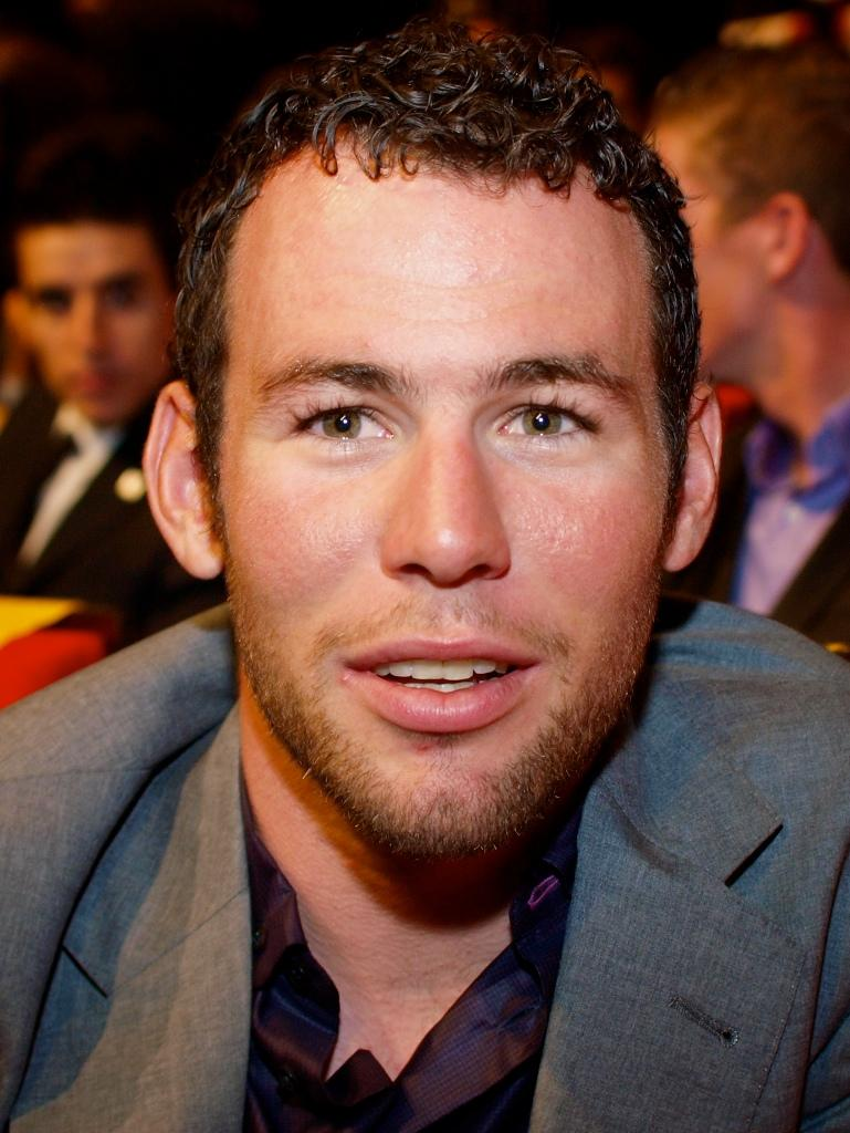 Mark Cavendish at the 2011 Tour de France Presentation © Simon MacMichael