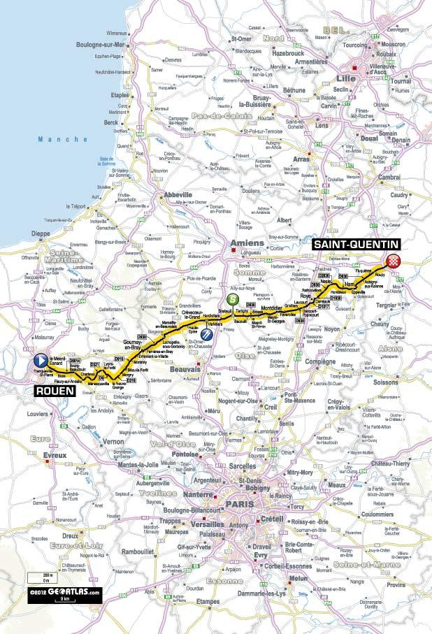 TDF 2012 S5 map