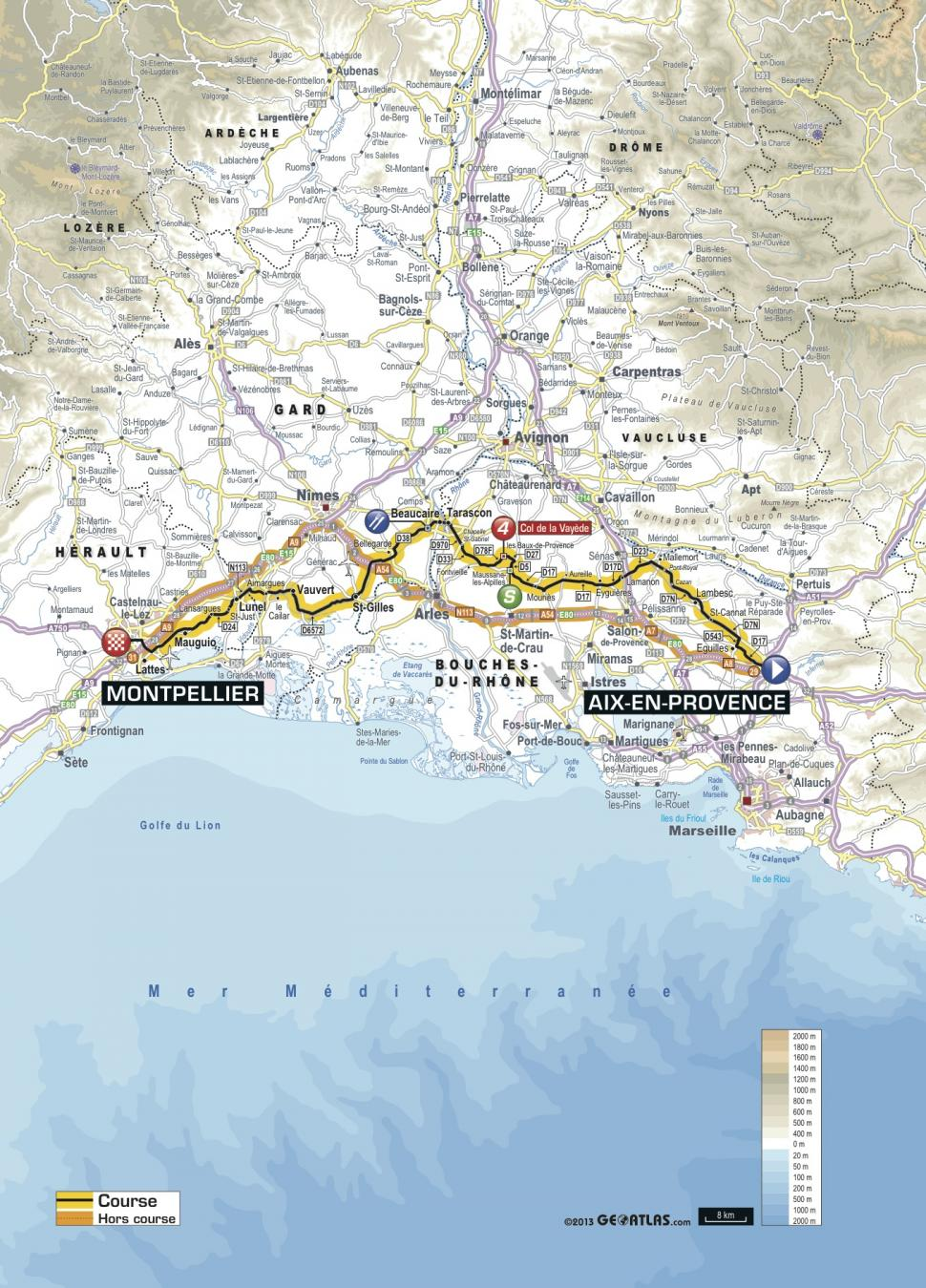 Carte tour de france 2013 mont ventoux webcam