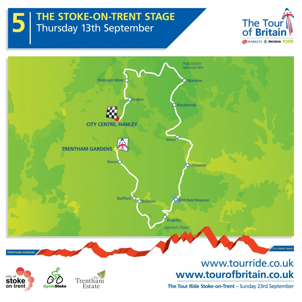 Tour of Britain 2012 Stage 5