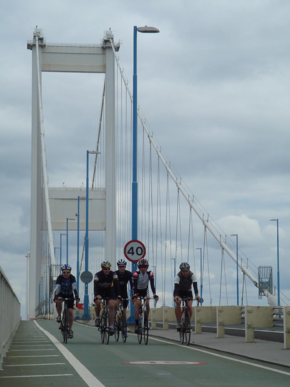 Severn Bridge Sportive recce 3