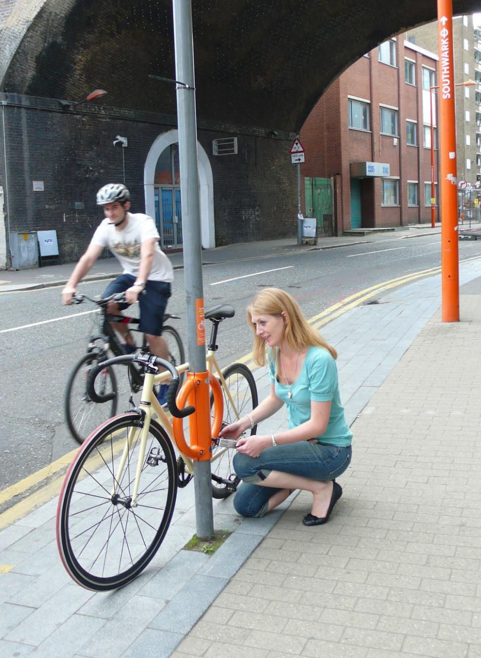 Cyclehoop - Southwark (pic:Antony Lau)