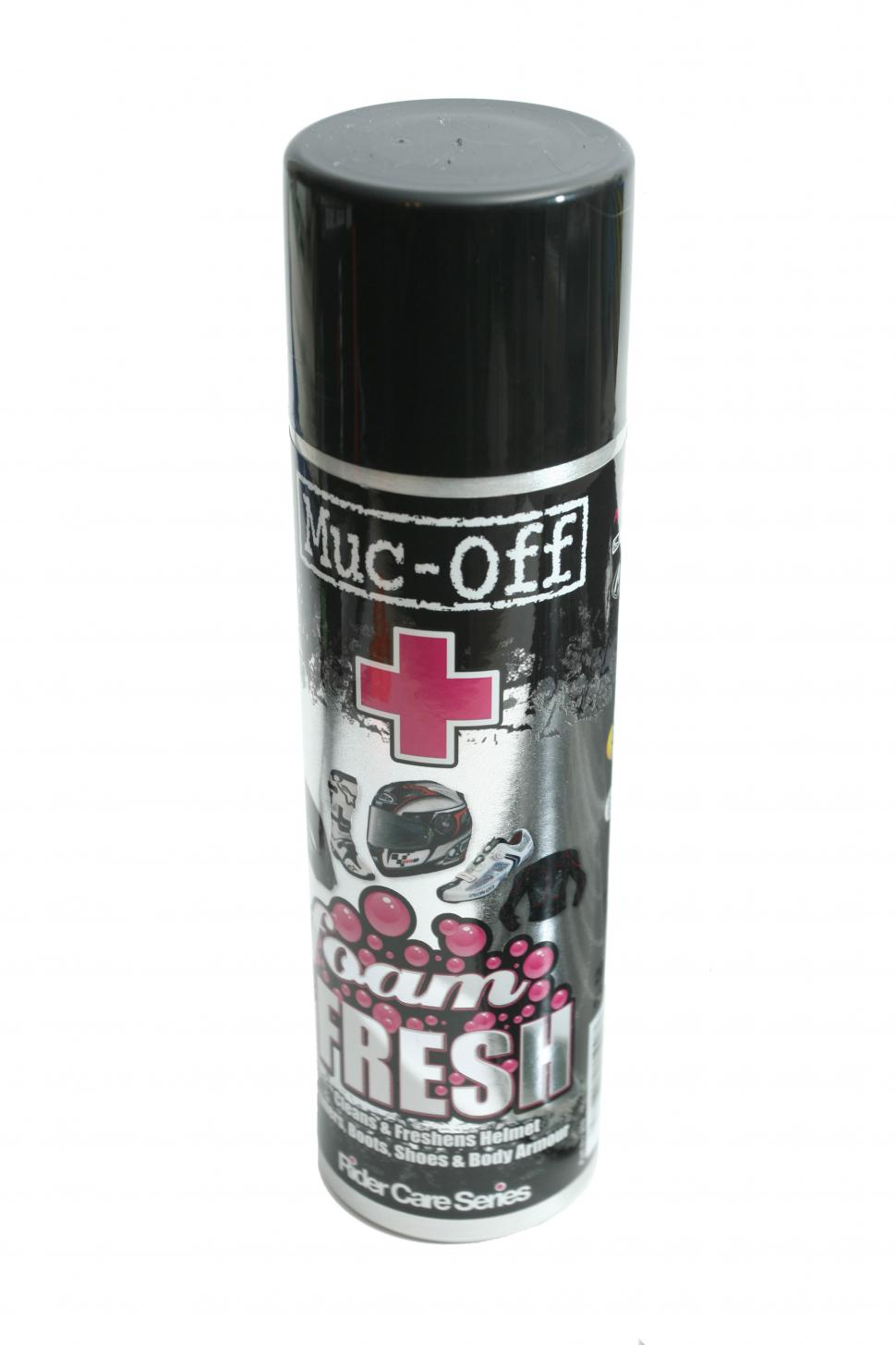 Muc-Off Foam Fresh helmet and shoe cleaner