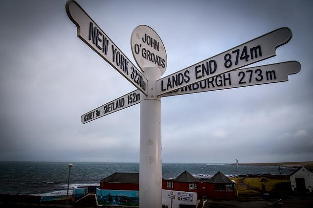 John O'Groats sign (Licensed CC BY 2.0  on Flickr by Rob Faulkner).jpg