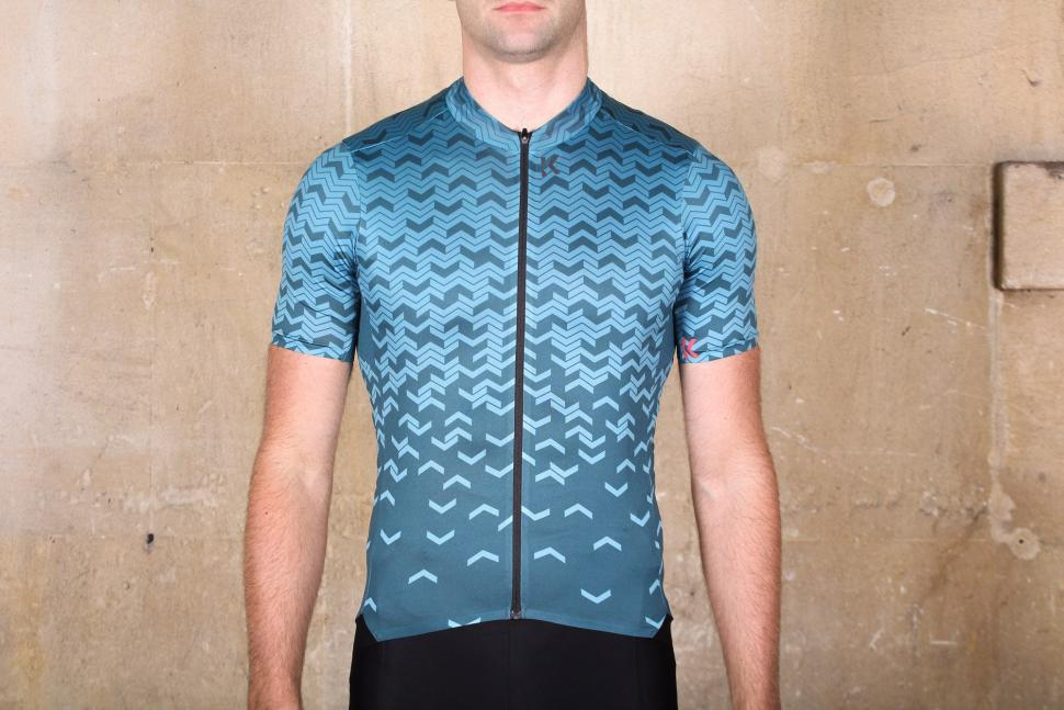 Kalf Flux Chevron Men's Short Sleeve Jersey.jpg