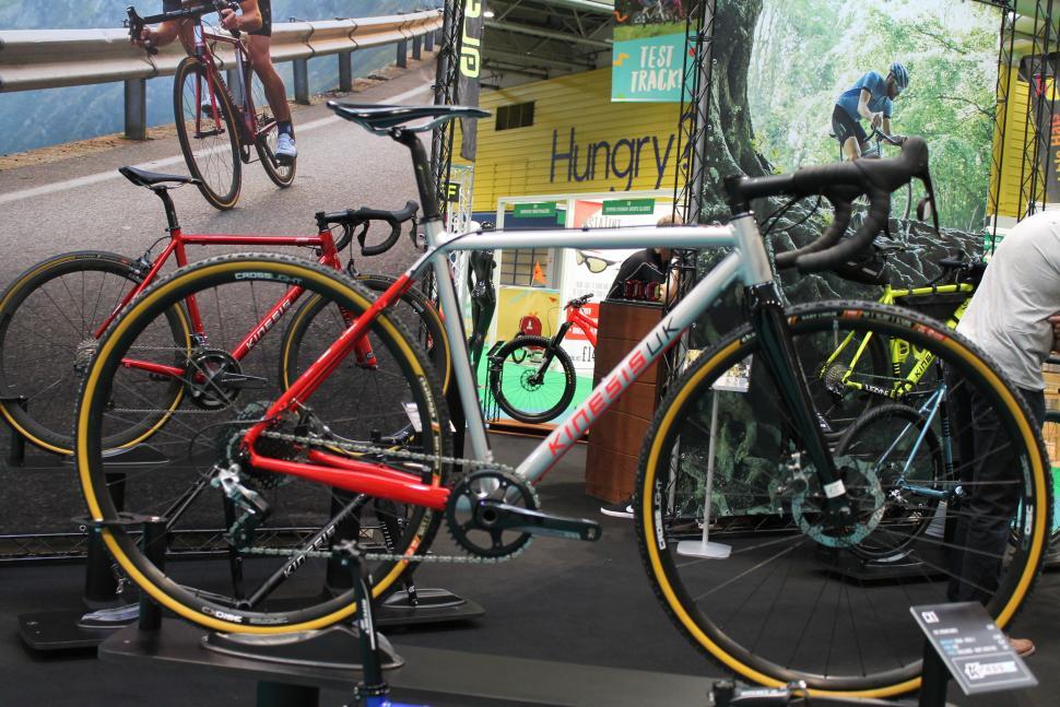 Kinesis new CX1 bike.JPG