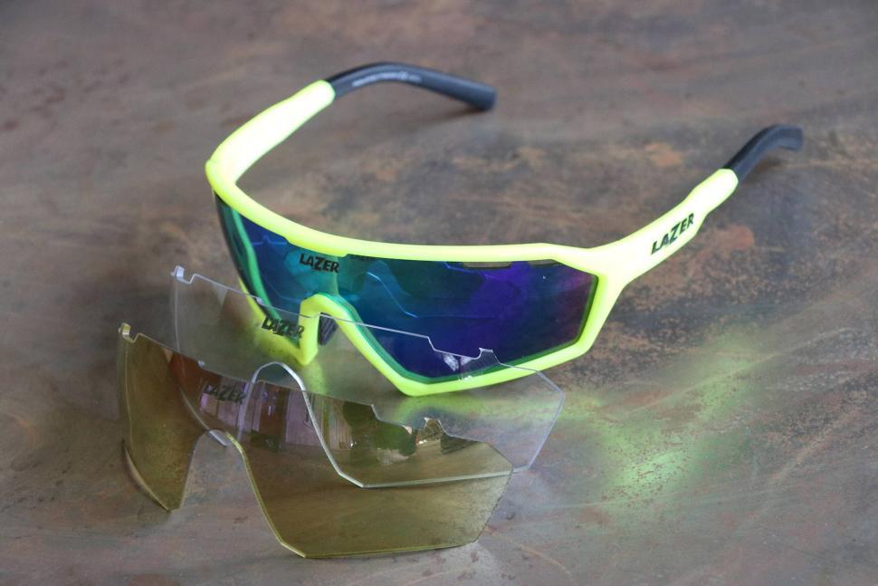 Lazer Walter Gloss Flash Yellow 3-lens glasses - lenses.jpg