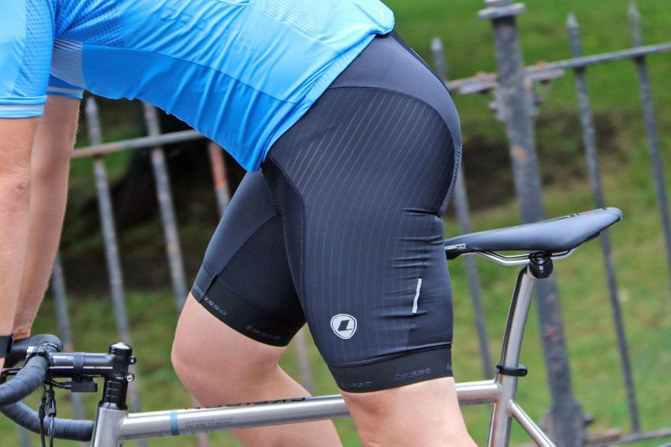 Lusso Active Aero Bib Shorts - riding.jpg